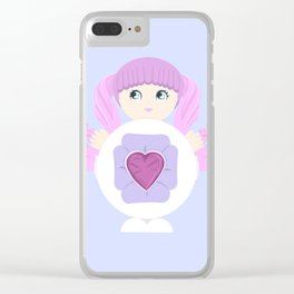 Sweet Secret Clear iPhone Case