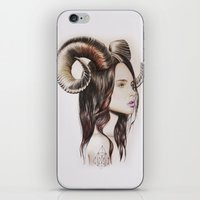 into the wild iPhone & iPod Skins featuring Wild by Amelia Souva