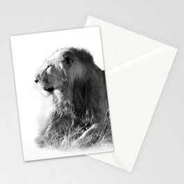 Lion in the Sunshine Stationery Cards