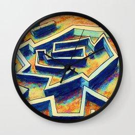 Maze 1 Wall Clock