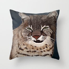 Bocat Throw Pillow