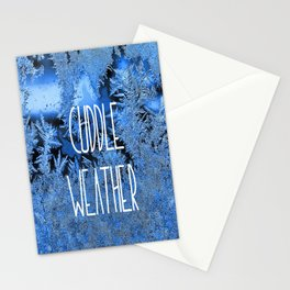 Cuddle Weather Stationery Cards