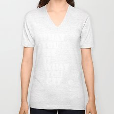 What You See Unisex V-Neck