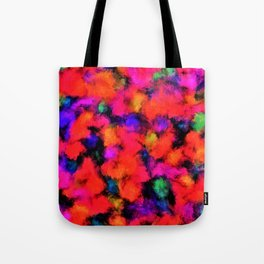 Bright Rainbow Colors Tote Bag