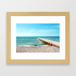 AFE Kew-Balmy Beach 2 Framed Art Print