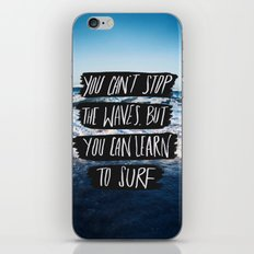 Learn to Surf iPhone & iPod Skin