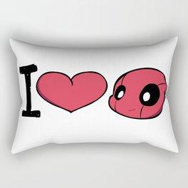 I Heart WWW Rectangular Pillow