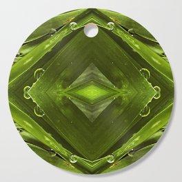 Dew Drop Jewels on Summer Green Grass Cutting Board