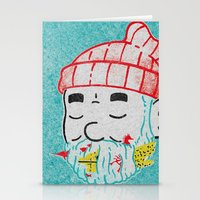 life aquatic Stationery Cards featuring Aquatic Life by Derek Eads