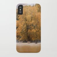 battlefield iPhone & iPod Cases featuring Morning on the Battlefield by Jai Johnson