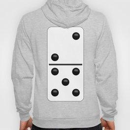 White Domino / Domino Blanco Hoody