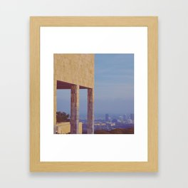 Elevated View Framed Art Print
