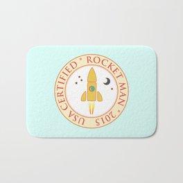Certified rocket man Bath Mat