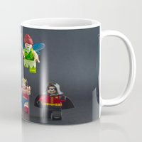 fairies Mugs featuring Scary Fairies by InkBlot