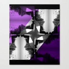 Fractal Wind Vane Skyline Canvas Print