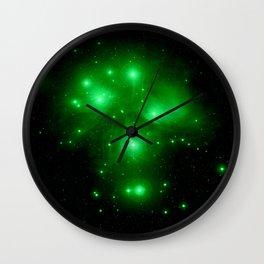 Galaxy : Pleiades  Wall Clock