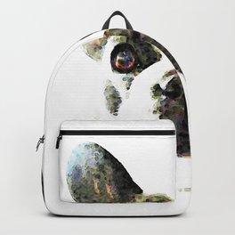 French Bulldog Art - High Contrast Print by Sharon Cummings Backpack