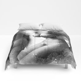 Two Naked Women Comforters