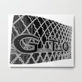 GTO Muscle Car Art by Murray Bolesta! Metal Print