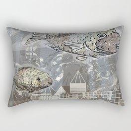 Deep in the Ocean Rectangular Pillow
