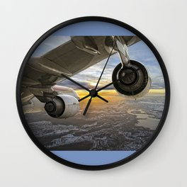 Airbus A-340 Wall Clock