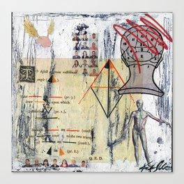 Logic & Theorems Canvas Print