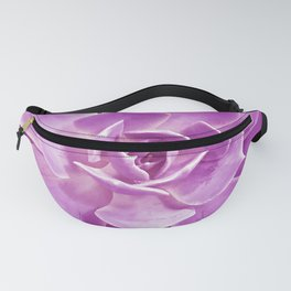 Exotic Pink-Lilac Succulent Close-Up Photo Fanny Pack