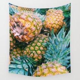 Orange you glad I said Pineapple Wall Tapestry