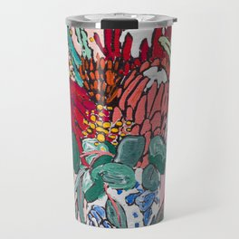 Australian Native Bouquet of Flowers after Matisse Travel Mug