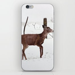 Chevreuil iPhone Skin
