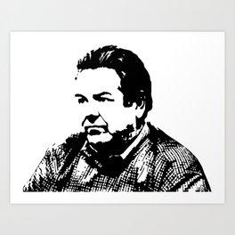 (Garry, Larry, Terry) Jerry Gergich Art Print