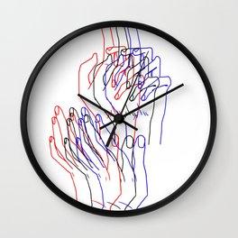 h a n d s Wall Clock