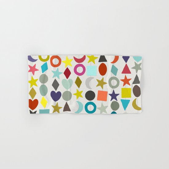 geo garland Hand & Bath Towel