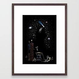 AstroNot Framed Art Print