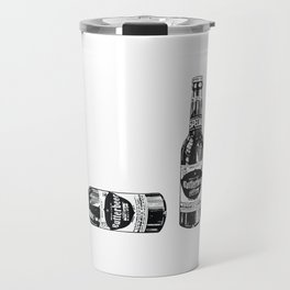 Butterbeer for three Travel Mug