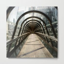 When you see the end of the tunnel Metal Print