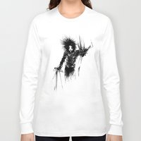 edward scissorhands Long Sleeve T-shirts featuring Edward Scissorhands by Karbon-K