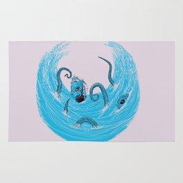Kraken's Whirlpool Rug