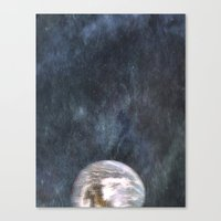 earth Canvas Prints featuring Earth by Arthur Raffin
