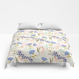 Tulips and Roses Comforters
