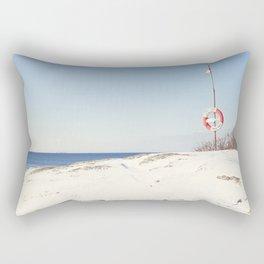 Cold saturday Rectangular Pillow