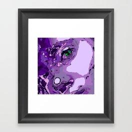 Model Geisha Framed Art Print