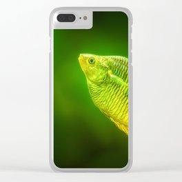 Green lure Clear iPhone Case
