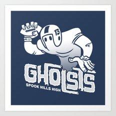Spook Hills Gholsts Art Print