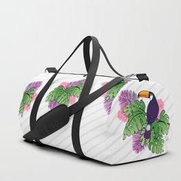 Tropical Toucan Design Duffle Bag