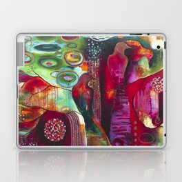"""True Nature"" Original Painting by Flora Bowley Laptop & iPad Skin"