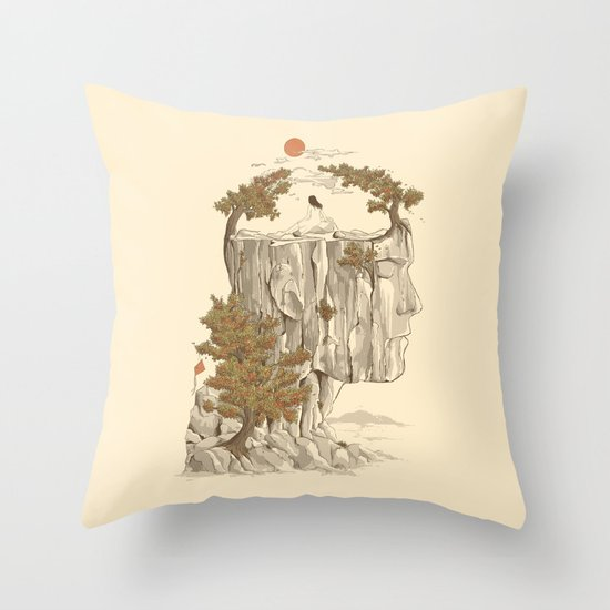A Beautiful Mind Throw Pillow