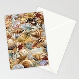 Sea Shell Mania Stationery Cards