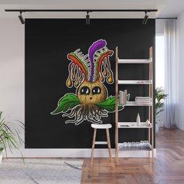 Betty Bulb Spring Monster Cartoon Creature Wall Mural