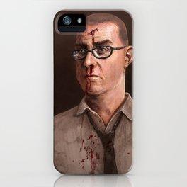 Facing up iPhone Case